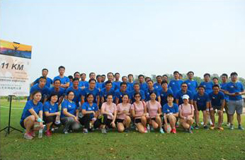 Staff Activities - Macritchie Marathon