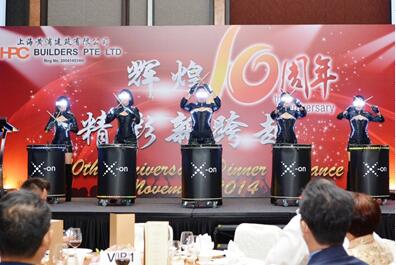 10th Years anniversary Celebration of HPC Builders Pte. Ltd