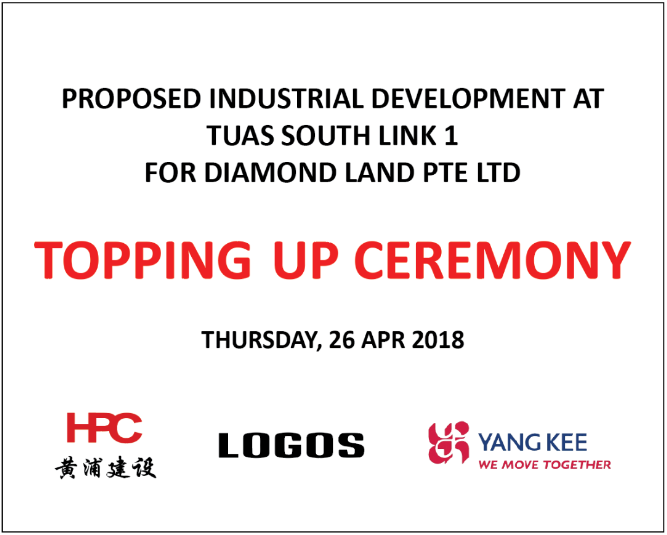 TOPPING-UP CEREMONY DIAMOND LAND PROJECT