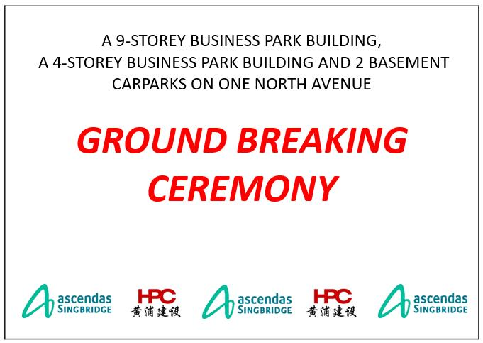 MH053-GRAB GROUND BREAKING CEREMONY
