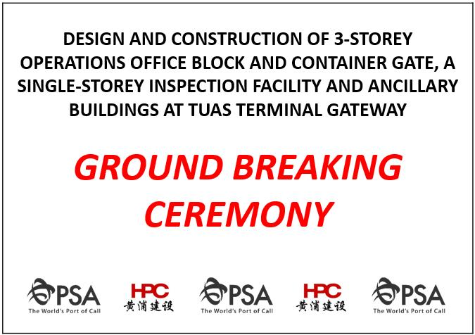 PSA GROUND BREAKING CEREMONY